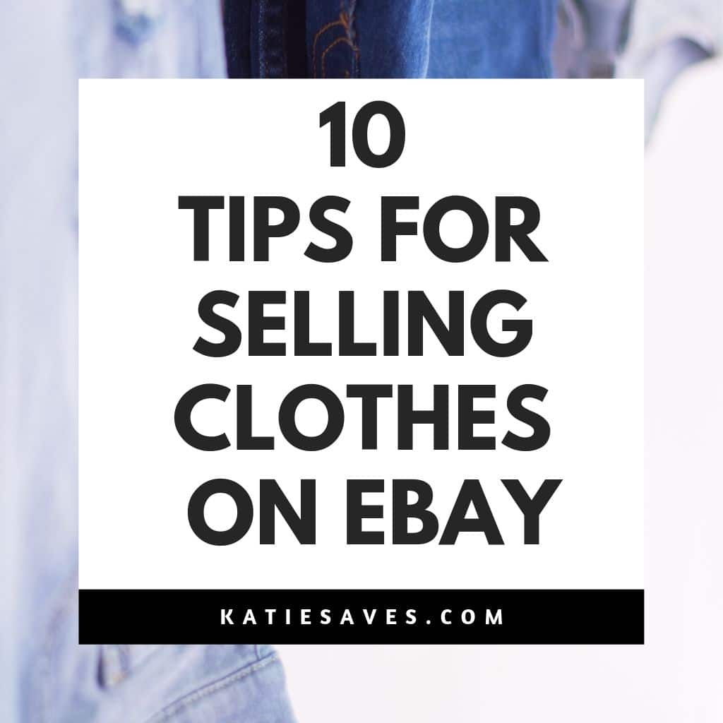 selling clothes on ebay