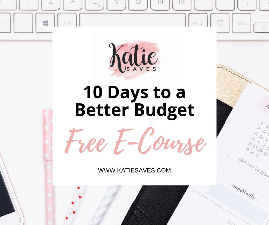 10 Days to a Better Budget