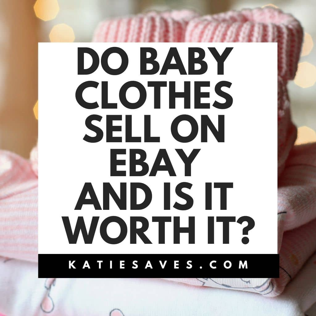 Dp baby clothes sell on ebay?