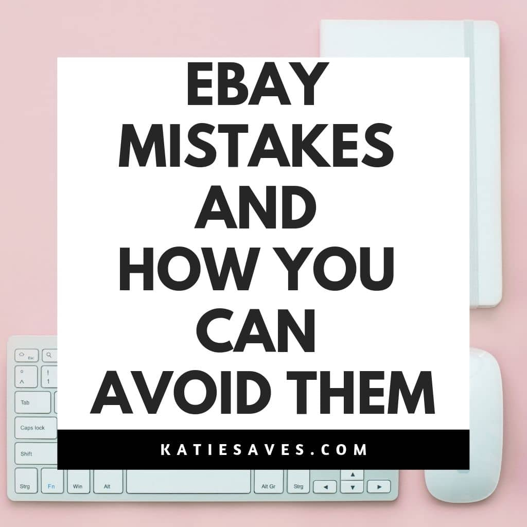 ebay mistakes