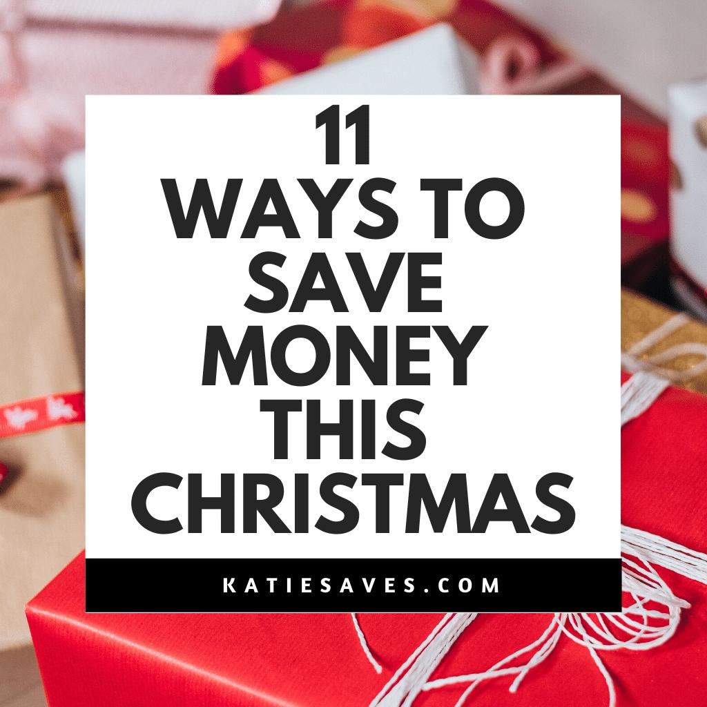 SAVE MONEY CHRISTMAS