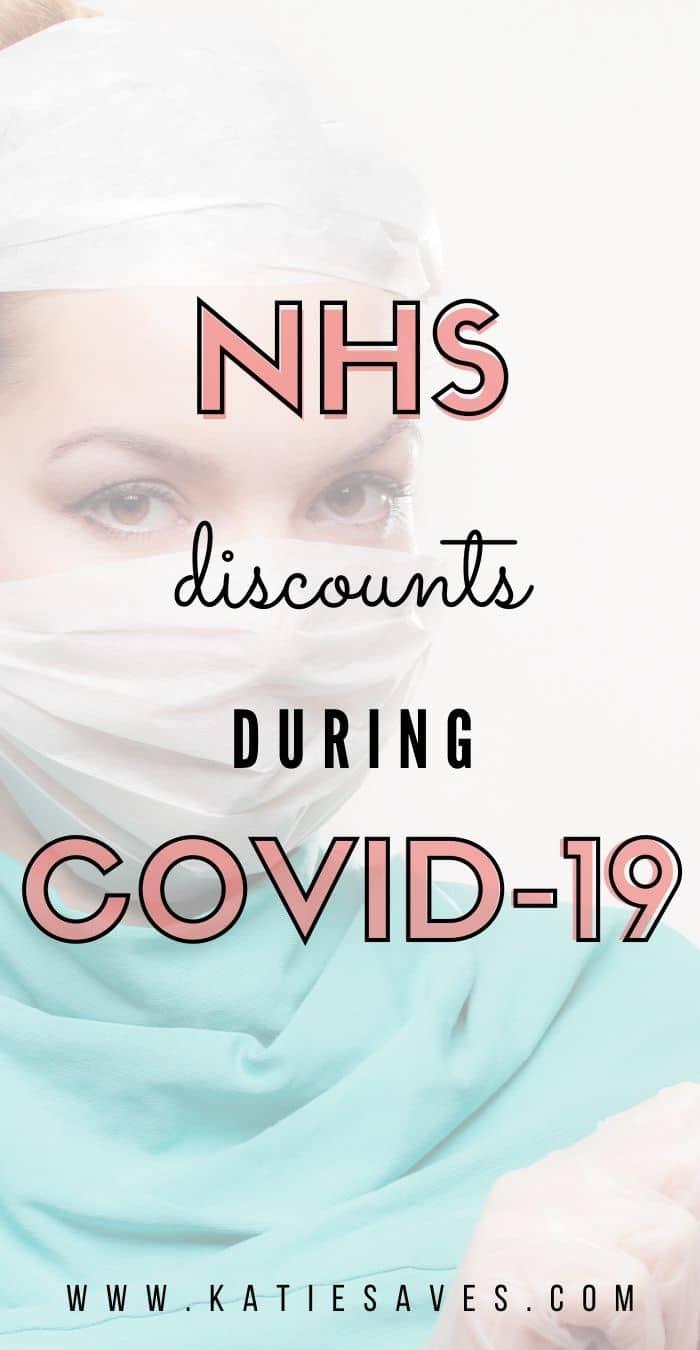 CURRENT NHS DISCOUNTS