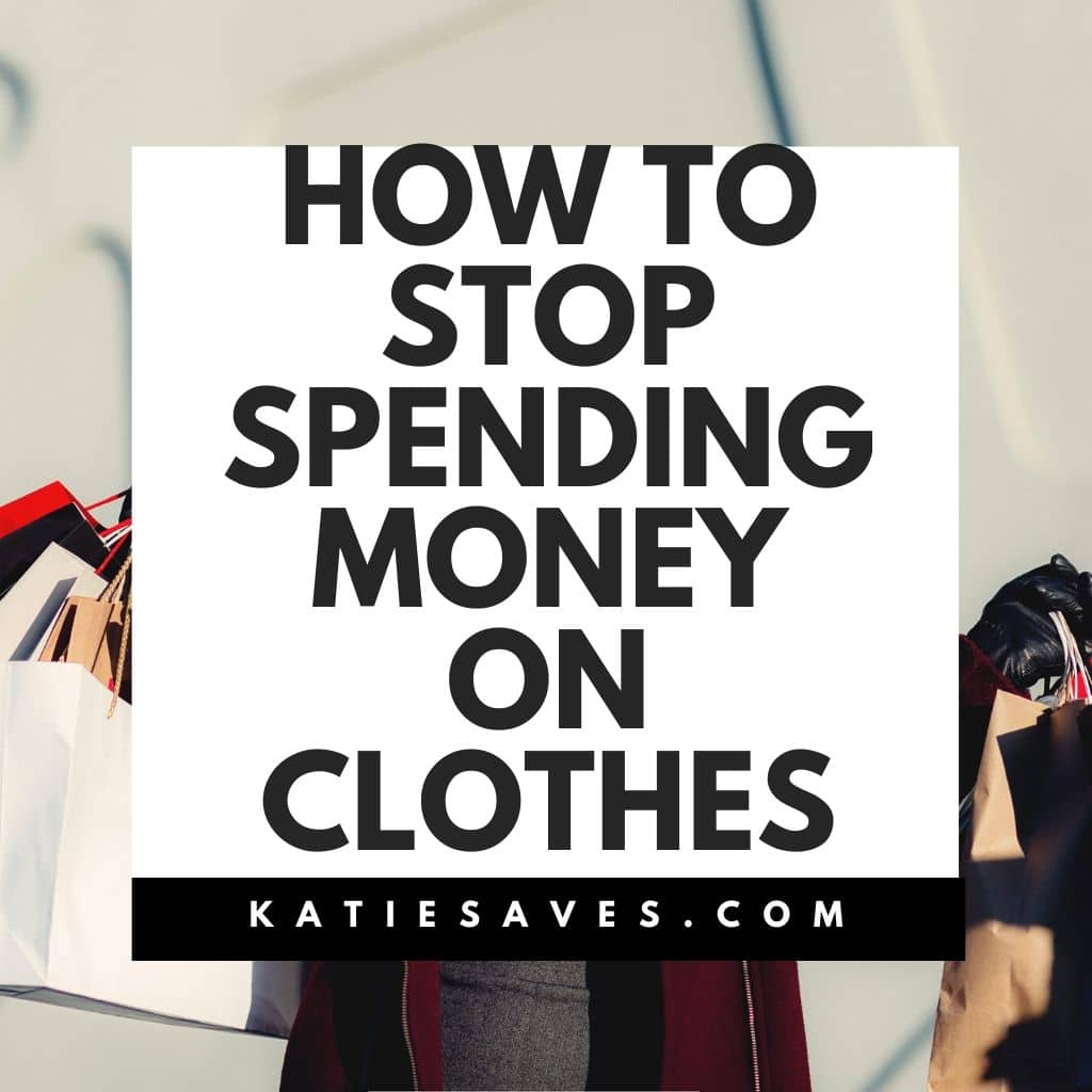How to Stop Spending Money on Clothes Main Image