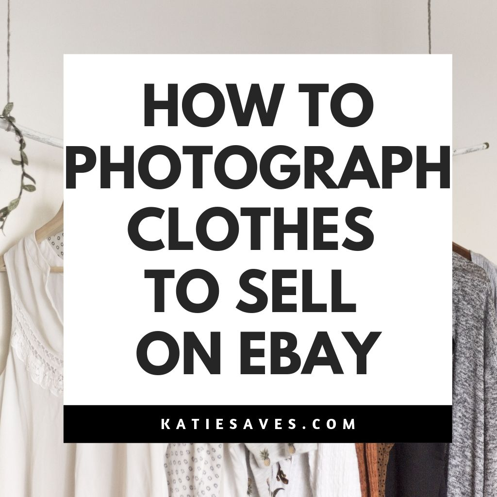 how to photograph clothes ebay