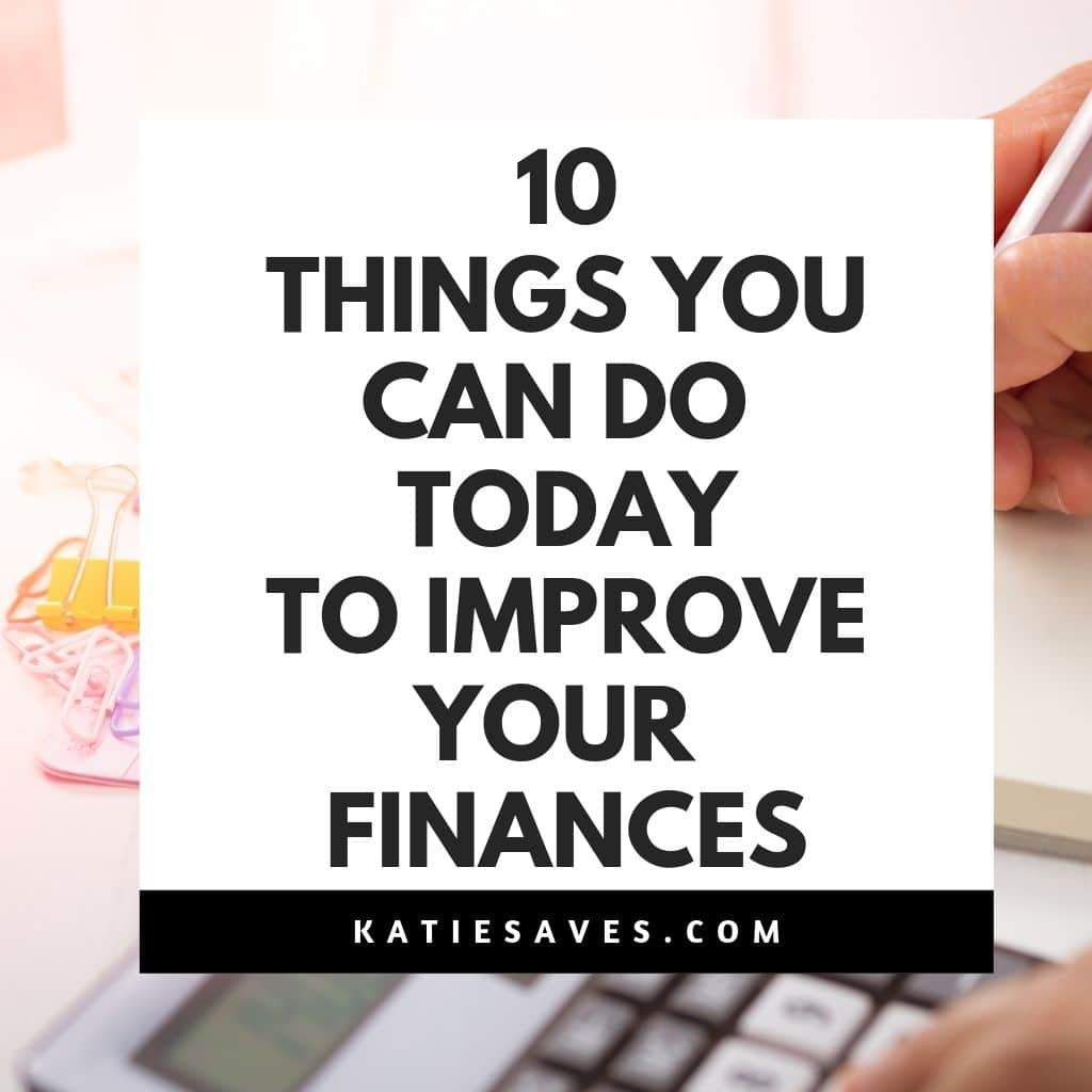 improve financial future