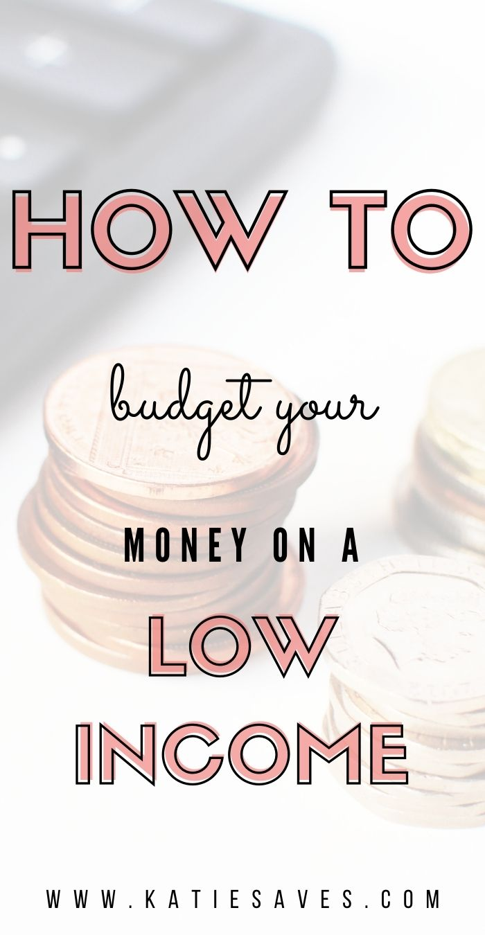 BUDGET ON A LOW INCOME POST PIN